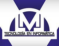 LML Tecnología en Informática- Logo y piezas gráficas