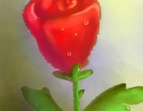 una flor para el amor, feliz día de la mujer
