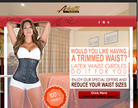Latexwaist.com - (landing pages)
