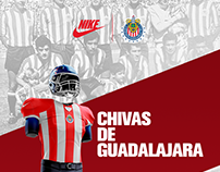 Jersey Chivas Fútbol Americano | Nike
