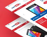 LOJAS MSA | Website Concept