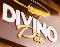 Criação Logotipo Divino Pão