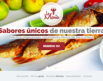 Website: Sevichería La María