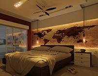 Diseño Espacio Interno- Dormitorio Principal