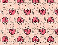 [Estampa Corrida] Tulipinha