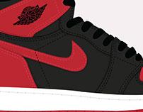 Air Jordan Illustration