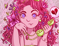 Flower Head - Illustration & Image Process