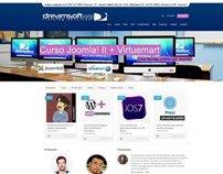 Website of educational establishment Dreamsoft.