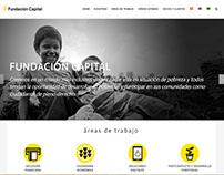 Sitio Fundación Capital en Wordpress - Colombia