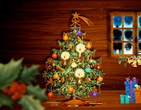 Pieza especial de Navidad - Árbolito de navidad - H2