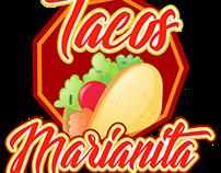 Logo Comida - Tacos
