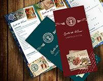 El Anticuario Restaurante.- Tarjetas & Menú