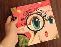"""Livro infantil """"O Mistério Fedorento"""""""