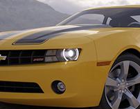 Render de vehículos (no modelado)