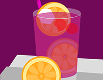 Vector Drinks - Huevember '16