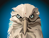 Eagle // Low Poly