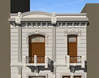 Diseño de Fachada Antigua