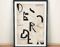 Puestas tipográficas / Tipografía como imagen