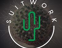 SUITWORK - Coworking Logo & Branding identity