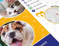 Triptico El Dorado Air Cargo Pets