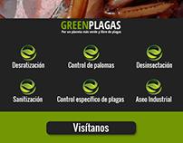 """Diseño Mailing """"Servicios"""" para GreenPlagas"""