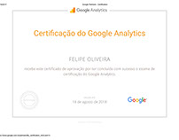 Certificado - Google Analytics