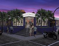 Render 3D - Centro Comercial