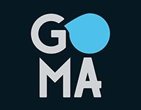 Branding e site Agência Goma