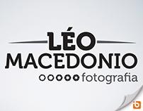 Léo Macedonio Fotografia - Logotipo e Id Corporativa