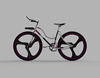 Bicicleta urbana para mujer / Women's urban bike