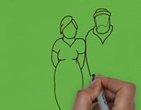 Animación whiteboard. Academia de Cabalá BB