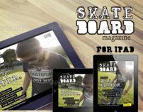 Skateboard Magazine Template for iPad