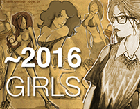 SketchBook 2016: Girls