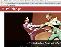 Politico Perú App v0.1