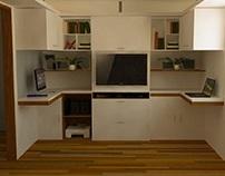 Furniture Design (Home Studio Renovation)