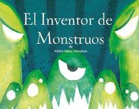 El Inventor de Monstruos - Book cover