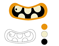 Flyer logo design