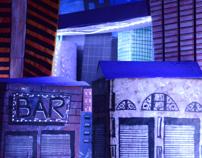 Construção de cenário: A cidade