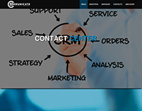 Communicate Contact Center - Responsive Website