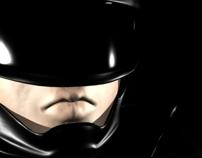 Soldado do futuro / Modelo 3D
