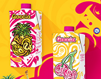 Pineapple and Cherry Juice / Packaging