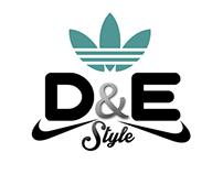 D&E Style Venta de zapatos deportivos LOGO /FACECOVER
