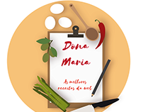 Logo to Cookbook Dona Maria