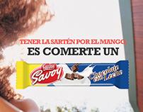 Social Media for Savoy (Nestle)