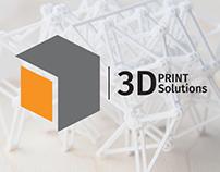 Identidad Corporativa 3D PRINT Solutions