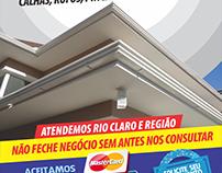 Job: Logomarca + Layout Folheto 15x20cm