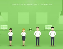 Outsourcing. Serie de Animaciones Corporativas.