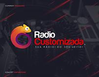 Radio Customizada - Logo Identity