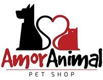 Logotipo Amor Animal Pet Shop