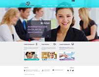 Maquetación sitio web corporativo